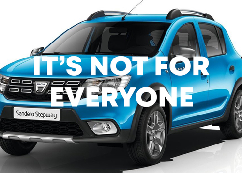 featured image thumbnail for post Dacia - It's Not For Everyone